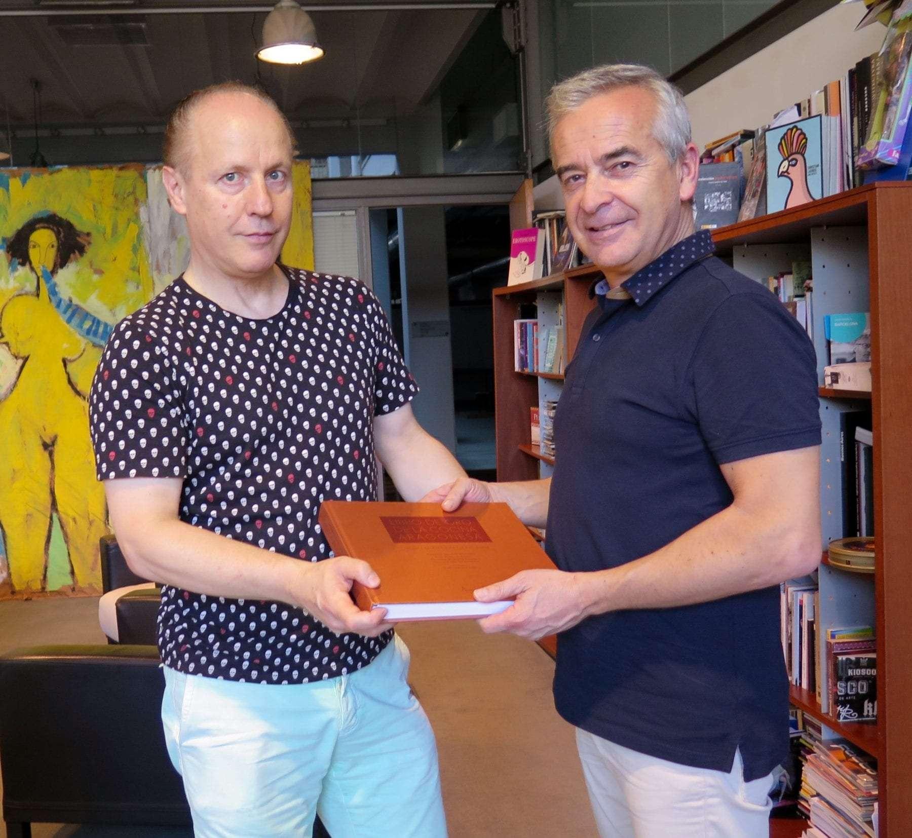 El libro de oro de la cocina aragonesa se presenta en for Cocina aragonesa zaragoza