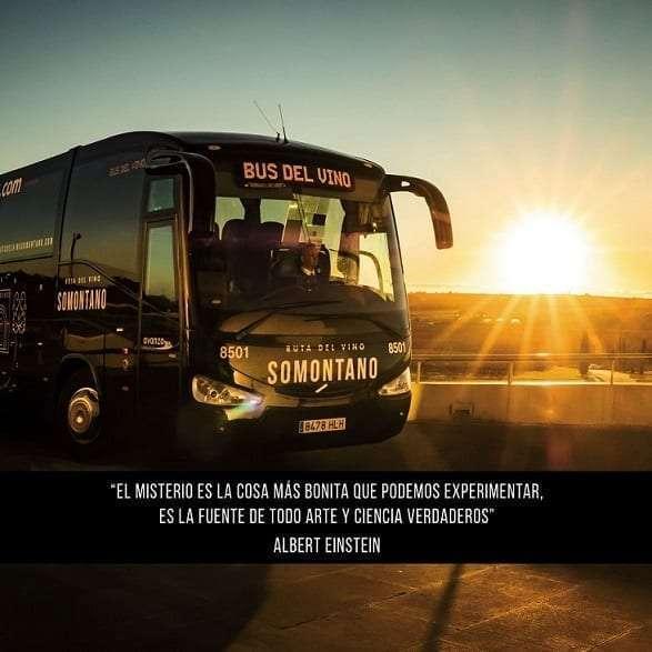 RUTA DEL VINO SOMONTANO Bus del Vino Somontano 2018 A Ciegas