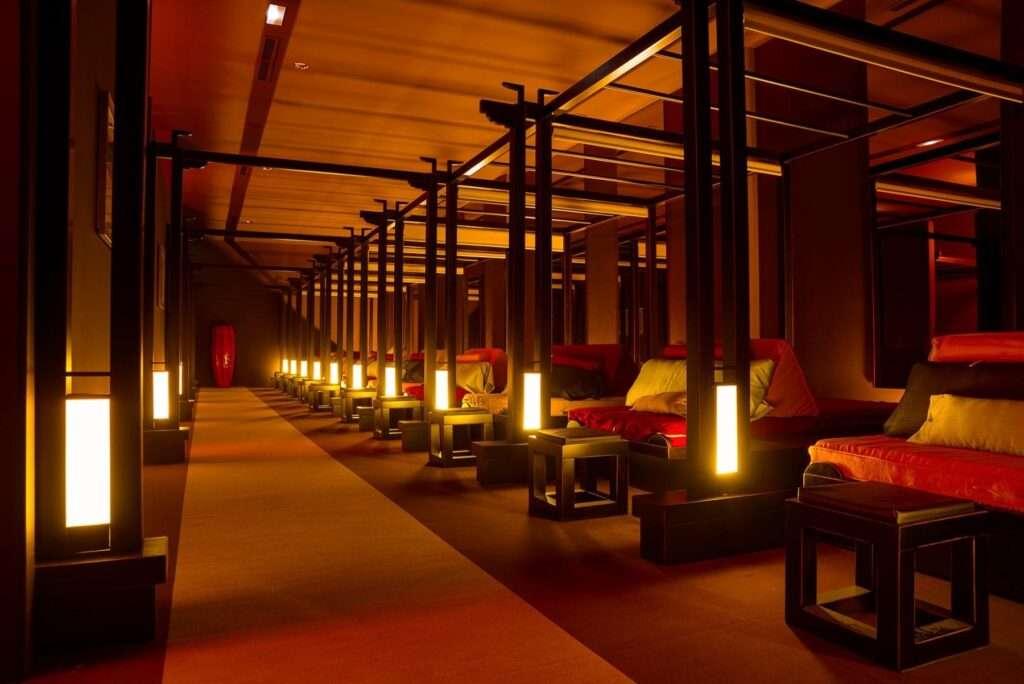 Sala de masajes de LIan xing