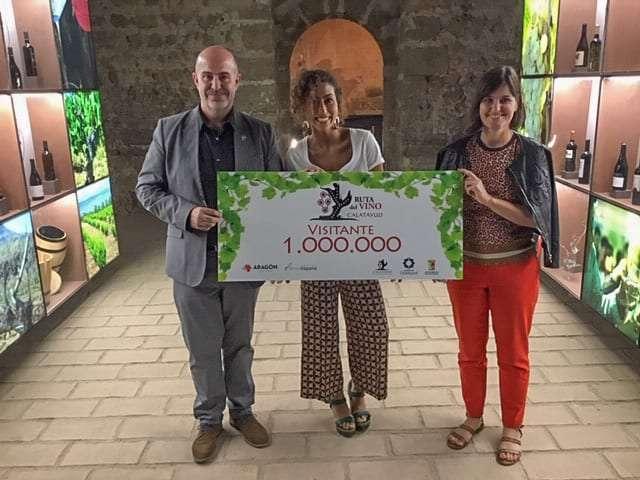 LA RUTA DEL VINO CALATAYUD RECIBE AL VISITANTE 1 MILLÓN