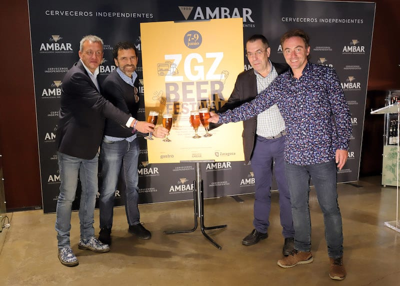 36 cerveceros independientes estarán presentes en el Zaragoza Beer Festival